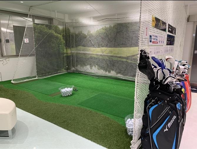 ゴルフ 室内 練習場 名古屋 栄 伏見 レンタル 無料