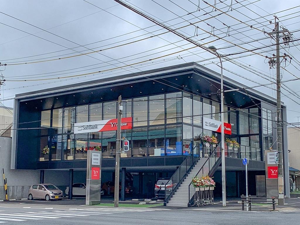 ソフトバンク稲沢駅南